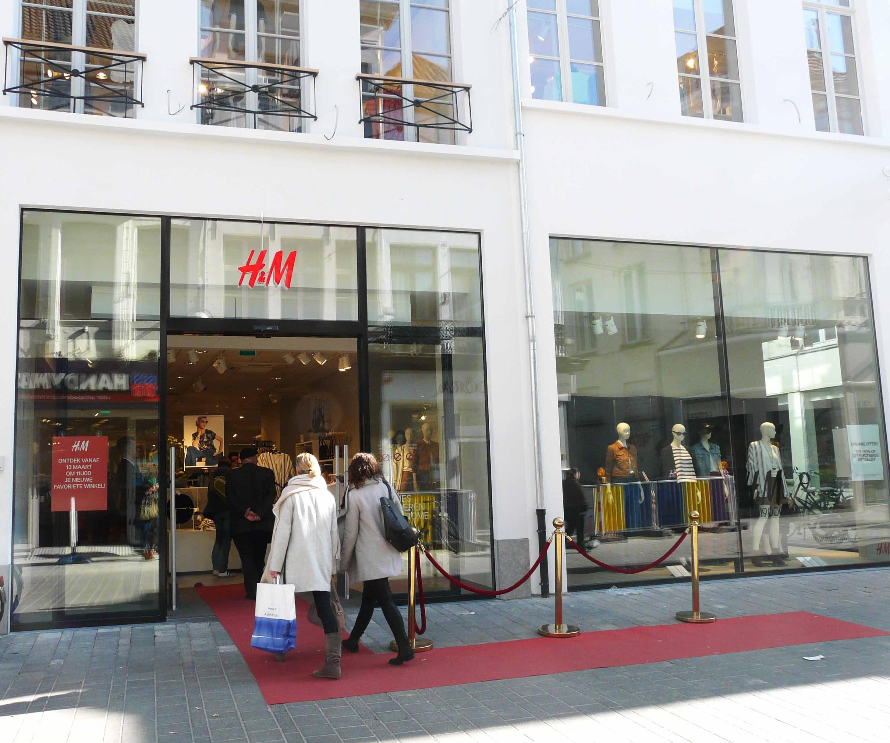 H&M aan de Lange Munt