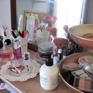 DIY: reorganisatie make-up met oude spullen