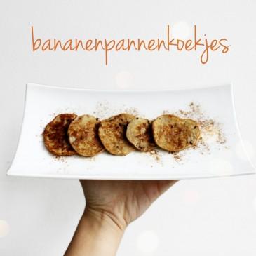 Recept: Bananenpannenkoekjes