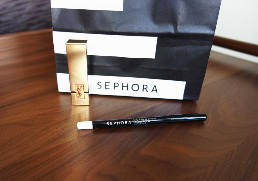 Sephora shoplog