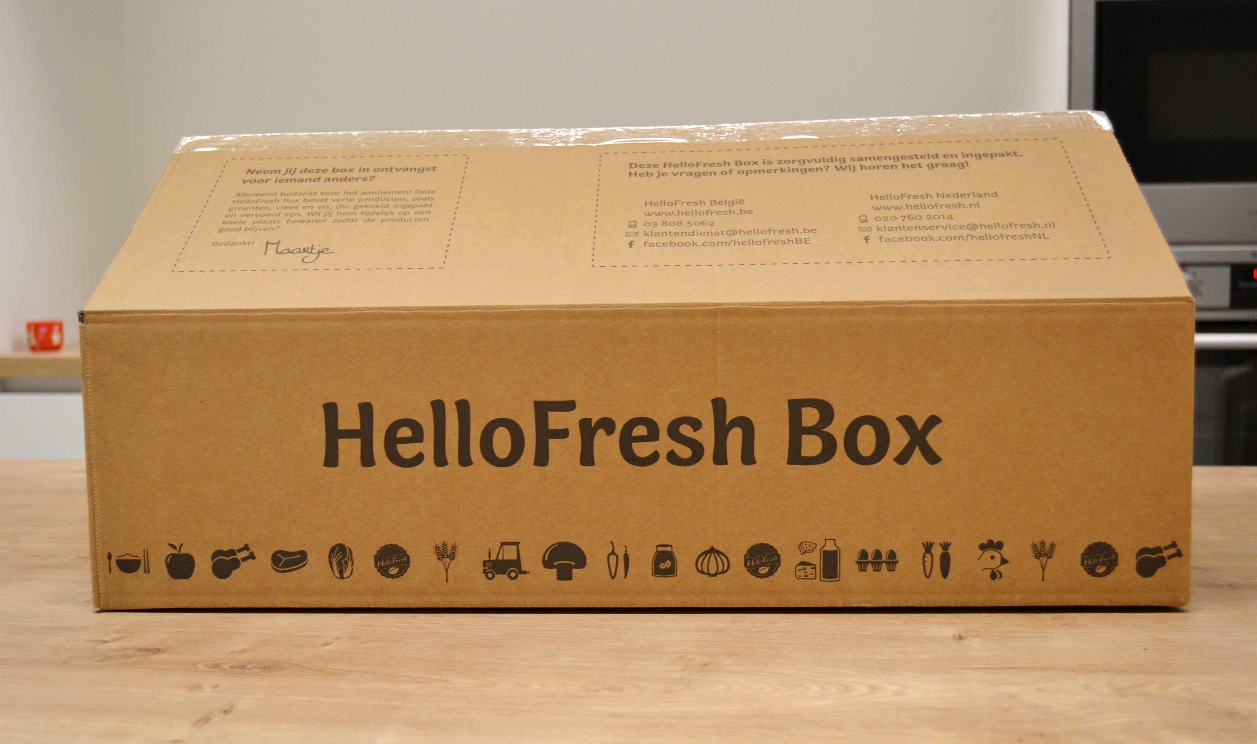 hellofresh doos