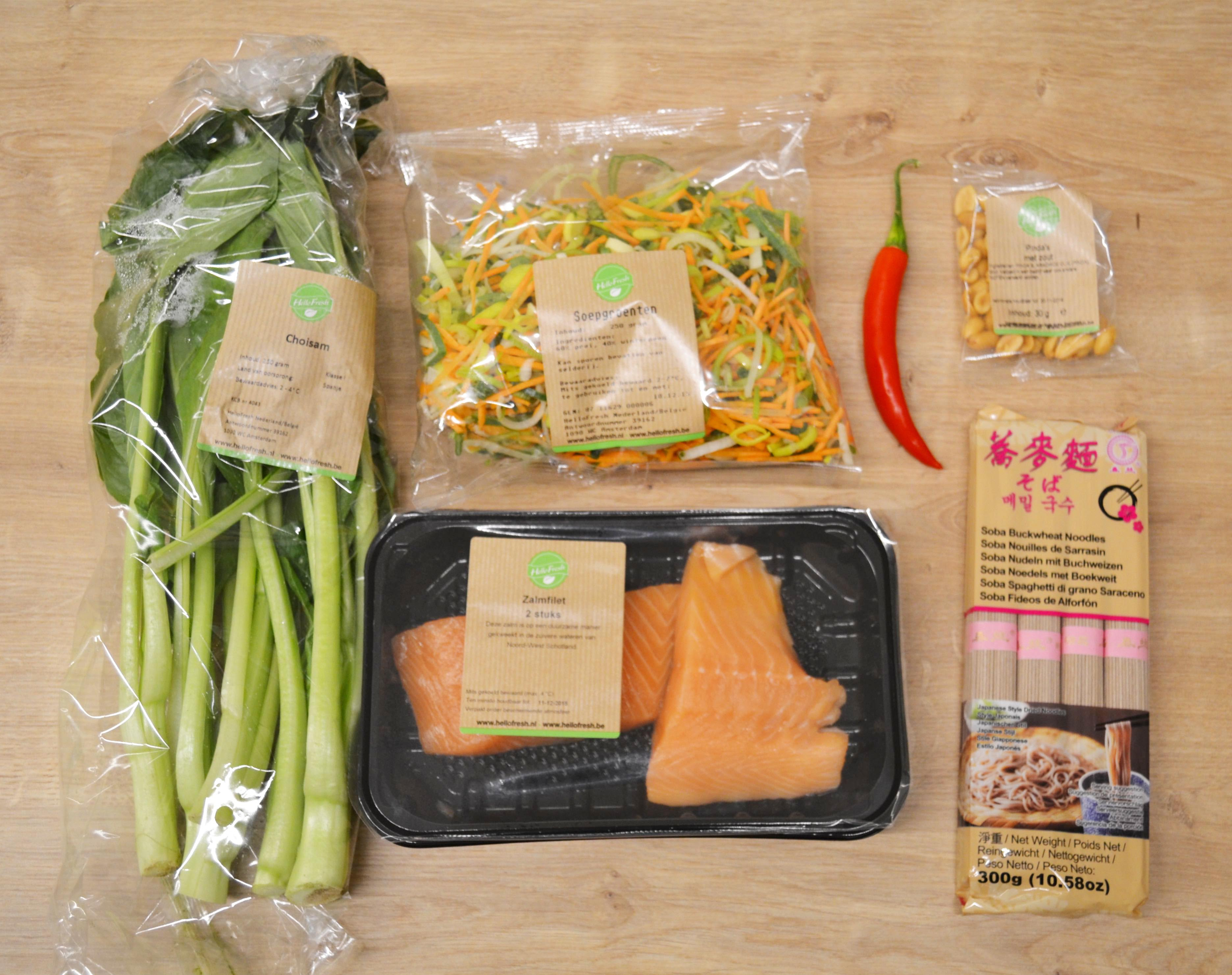 hellofresh ingredienten