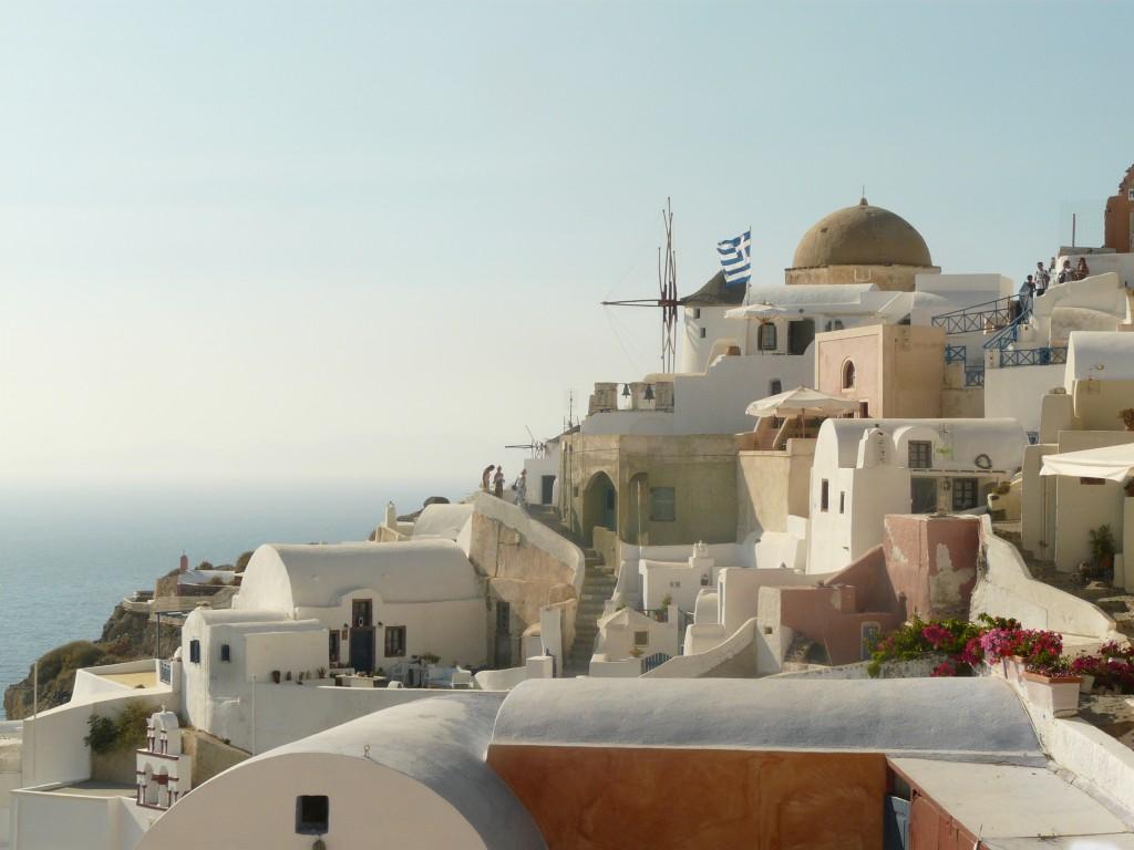 Toen Bram en ik naar Santorini gingen :D