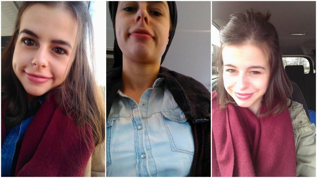 voor - tijdens - na (selfies zijn niet mijn sterkste kant - snorry)