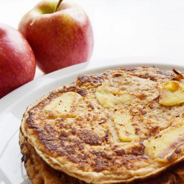 Recept: havermoutpannenkoekjes met appel