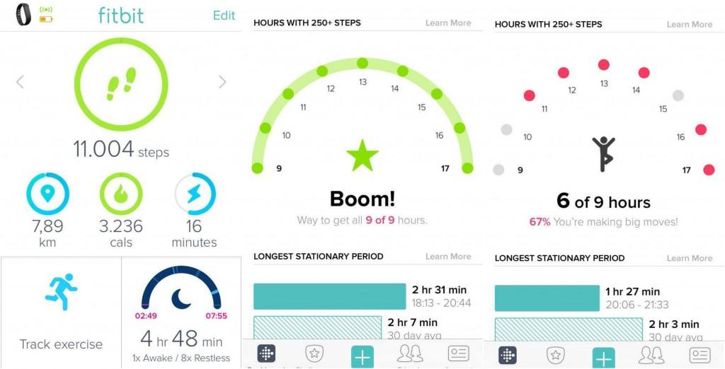 Fitbit Applicatie