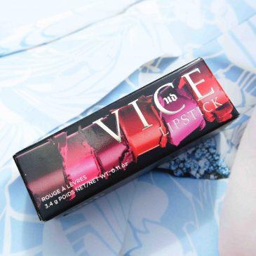 Make-up: Urban Decay Vice lippenstift