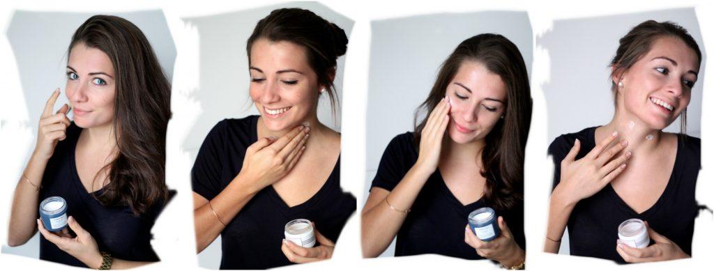 Louise's skincare routine