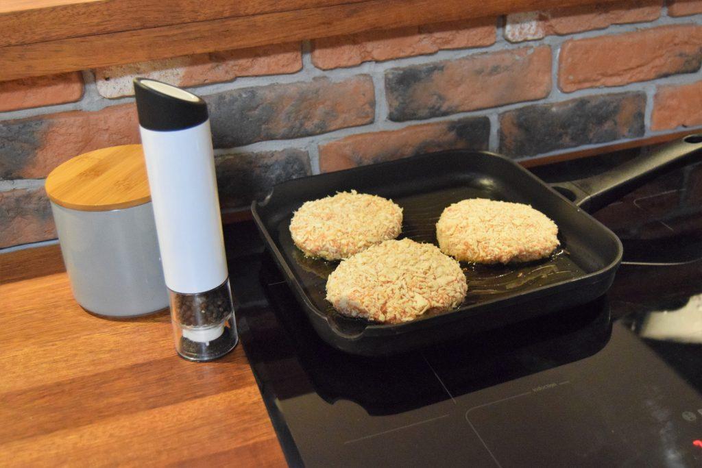 recept kippenburger bakken