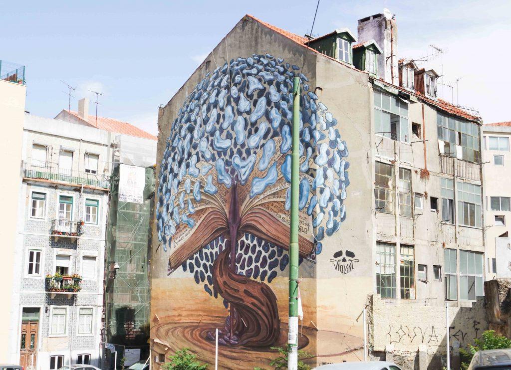 street art Lissabon reistips