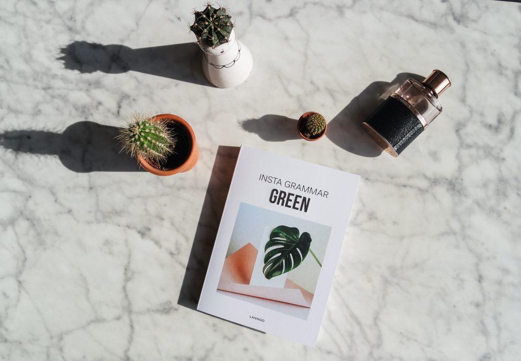 Insta grammar boek Green