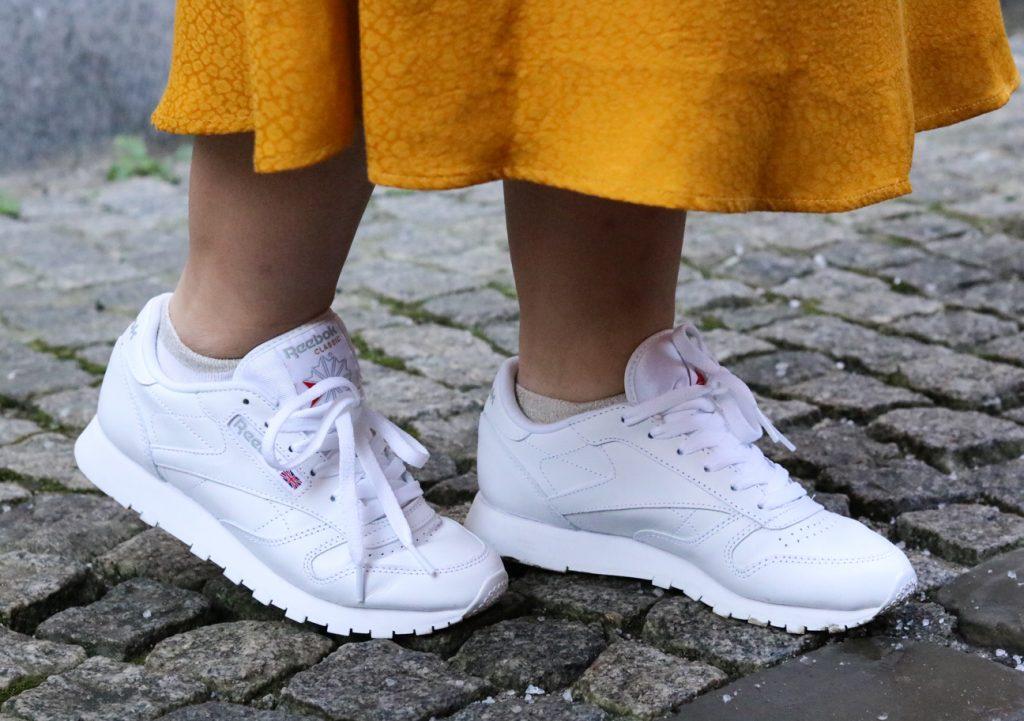 Witte Reebok sneakers
