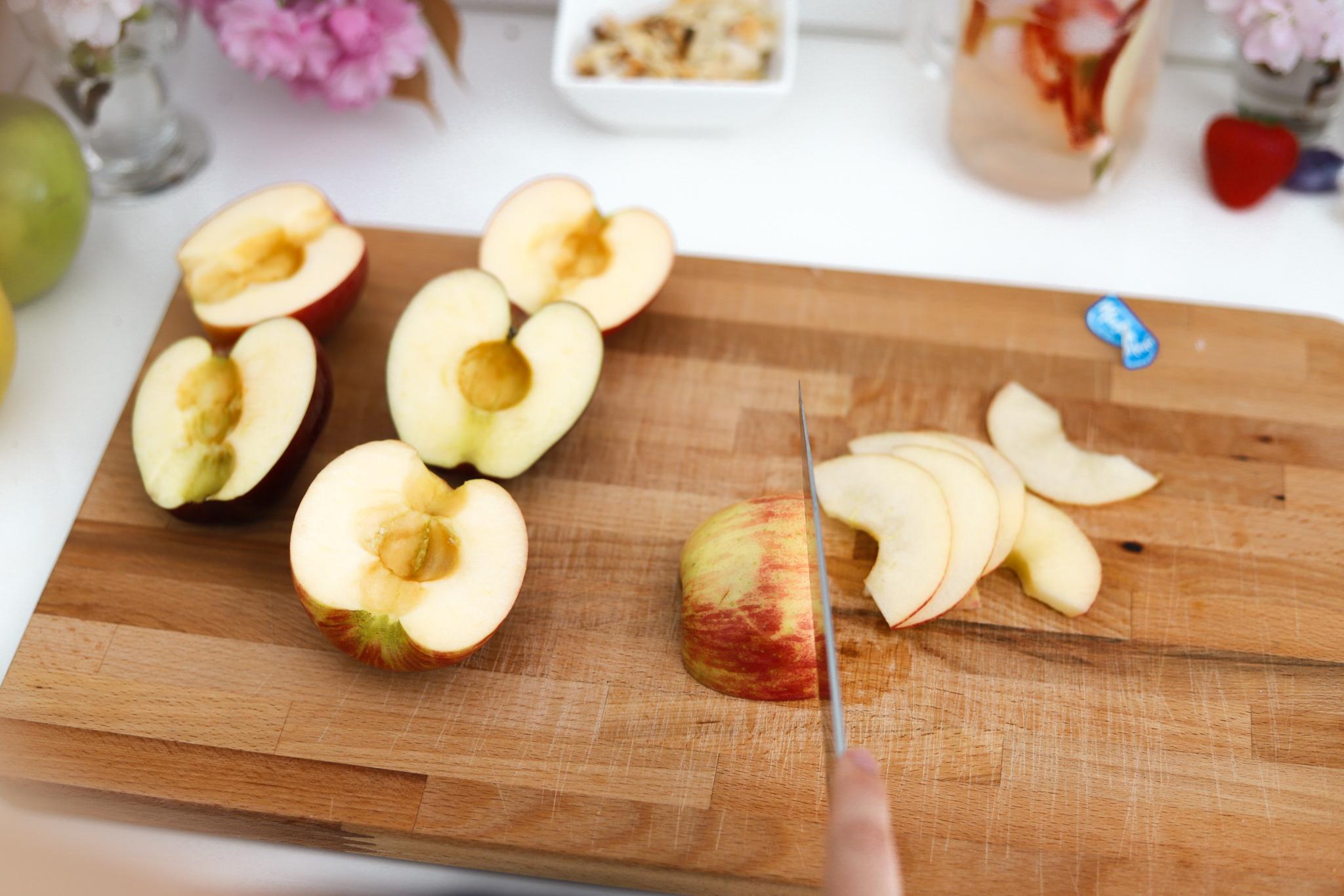 Tarte bouquet de roses aux pommes