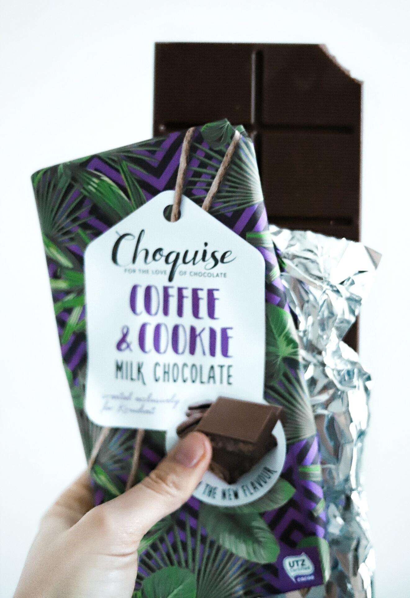 Choquise chocolat bars van Kruidvat