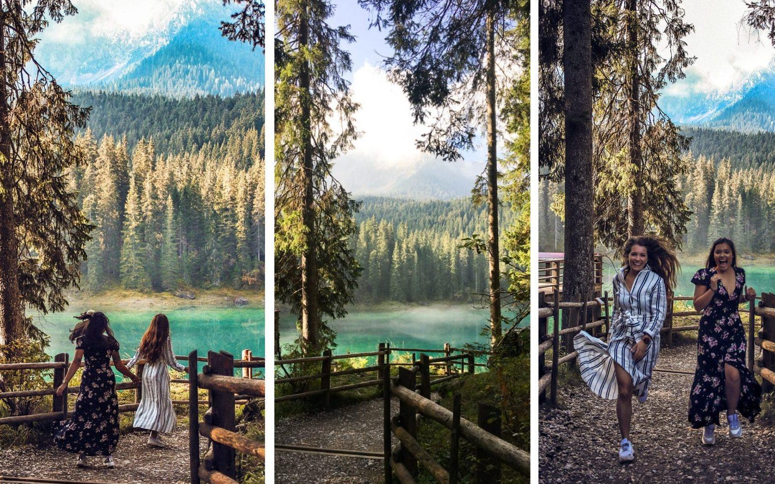 Karrersee Zuid-Tirol
