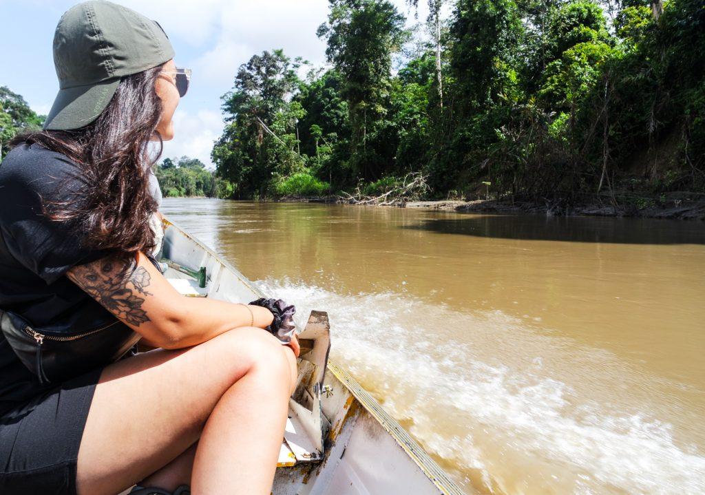 Amazone rivier Peru