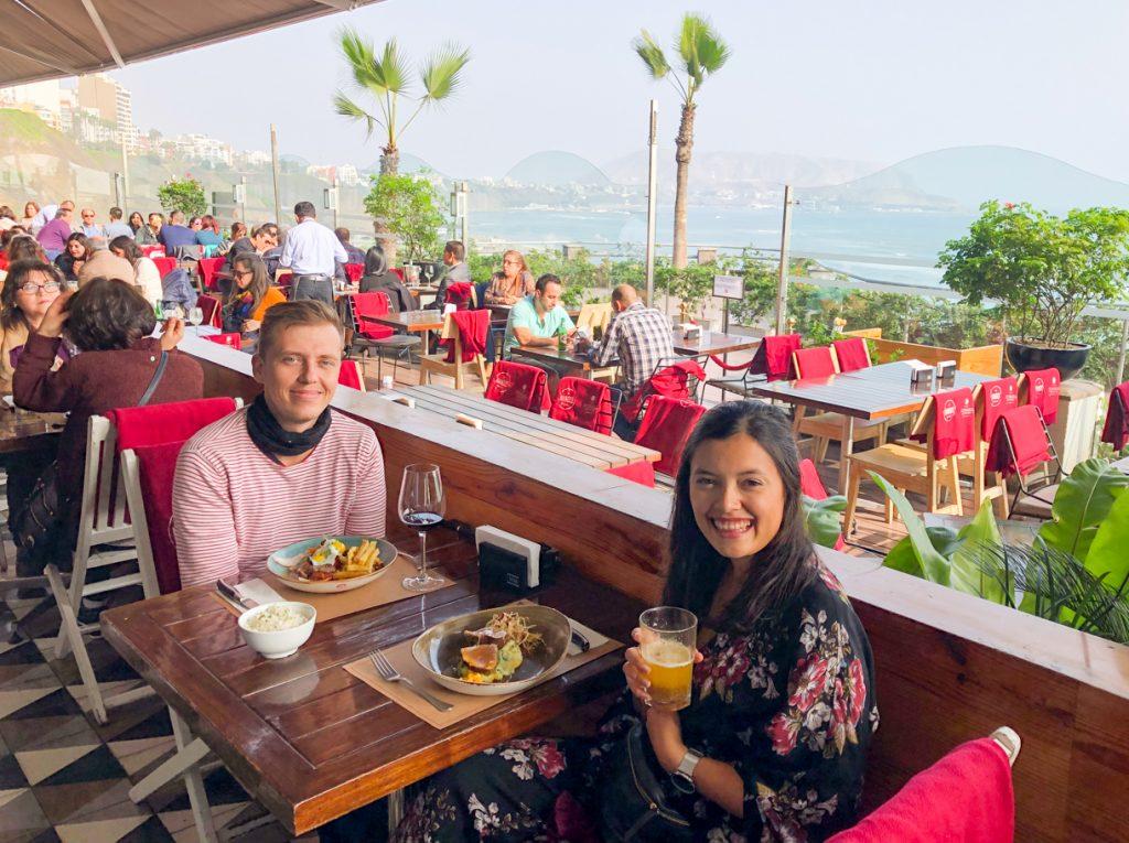 Mangos restaurant Lima