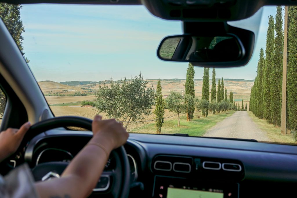 Val d'Orcia route