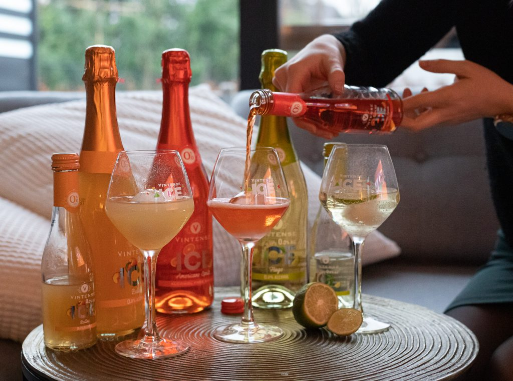 Vintense ice mocktails  Tournée Minéral   Non-alcohol apero moments