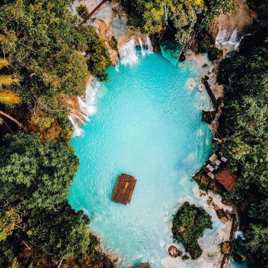 Cebu Siquijor Cambugahay Falls