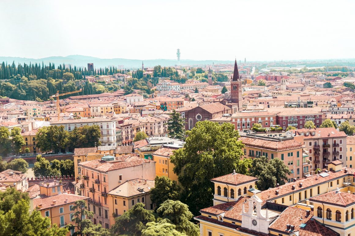 Verona uitzicht