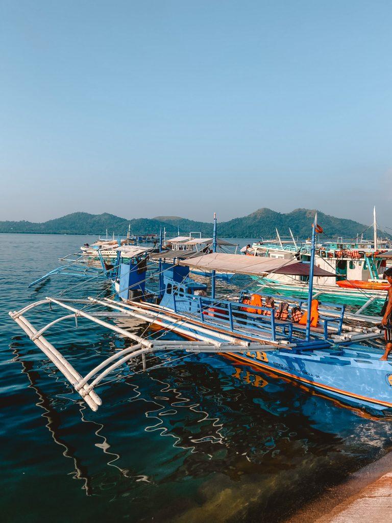 Filipijnen boottocht Coron