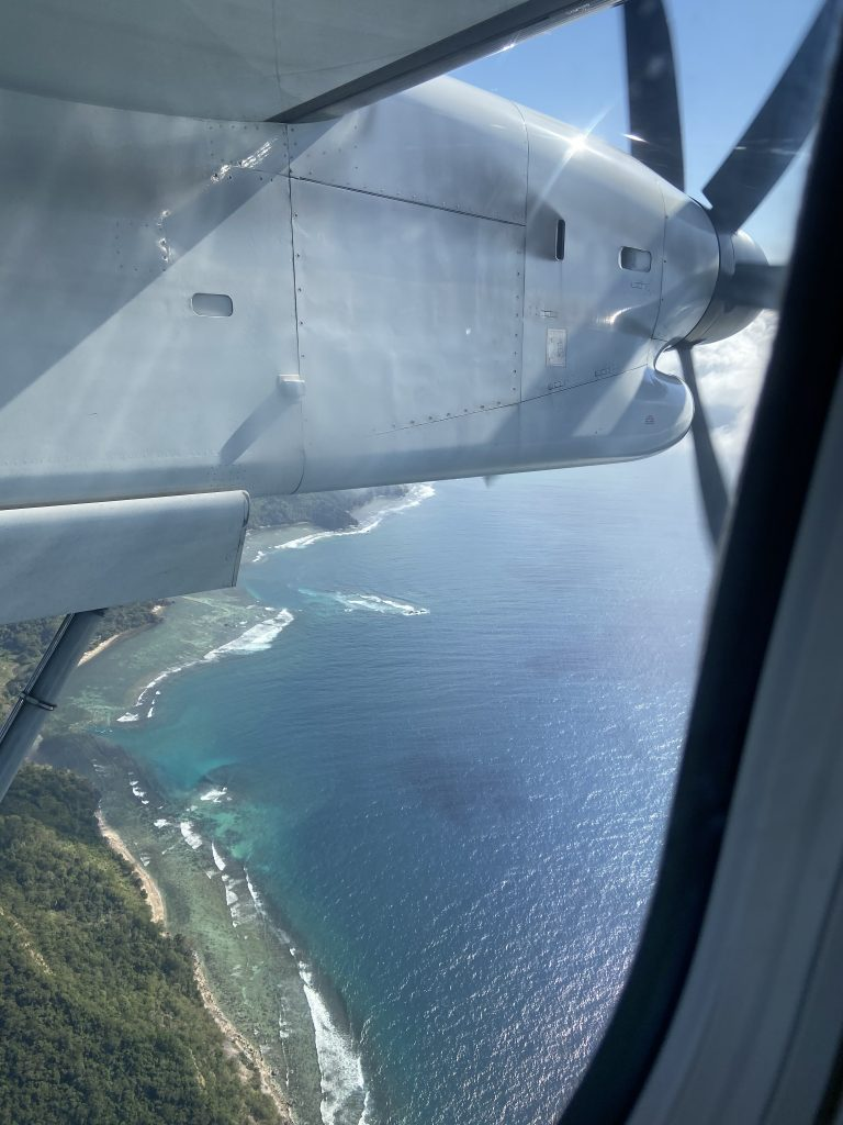 Filipijnen vlucht Coron Cebu